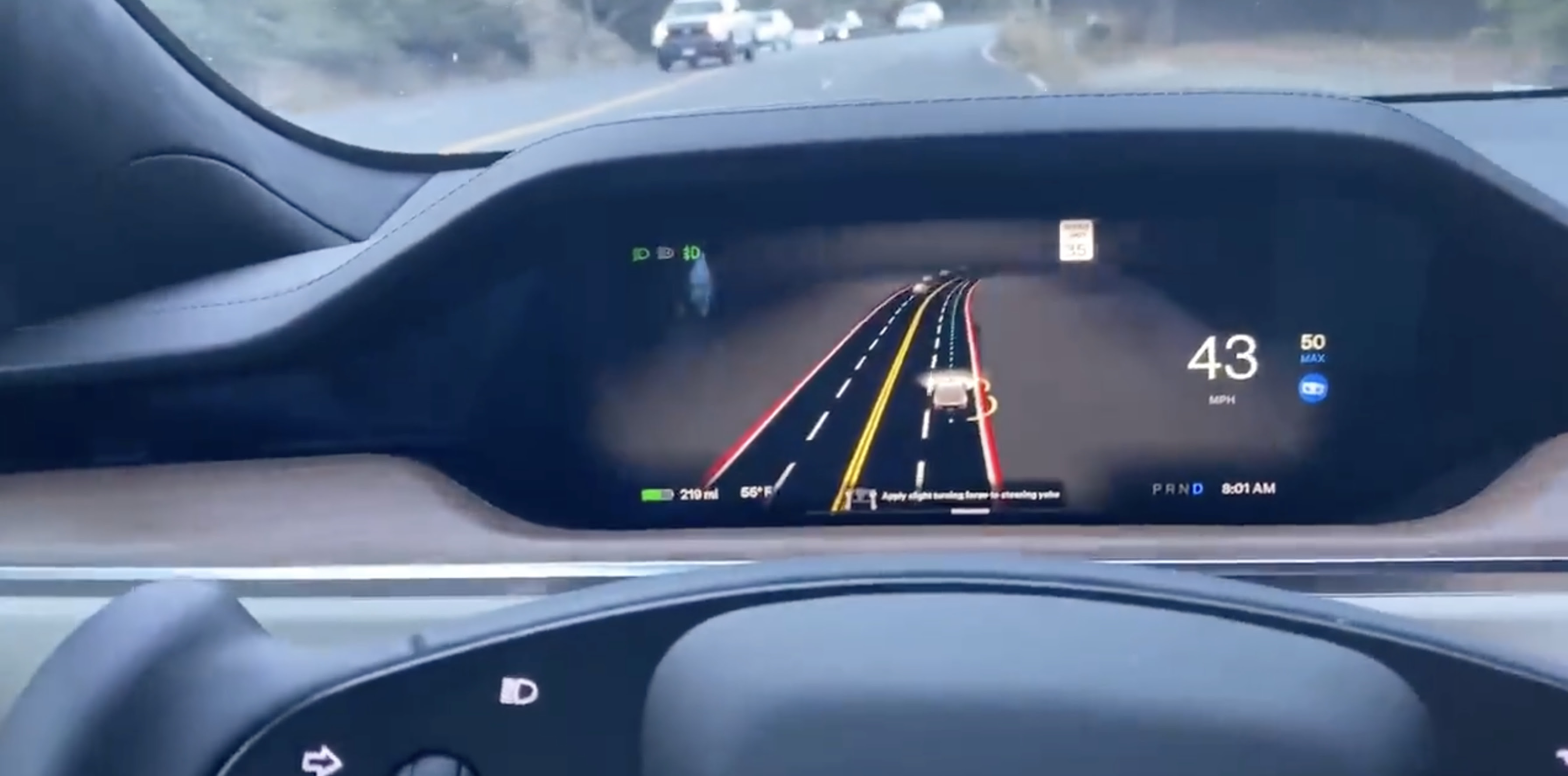 Tesla pushes 'Full Self-Driving Beta' to investor with poor 'safety score' while requiring perfect score from others