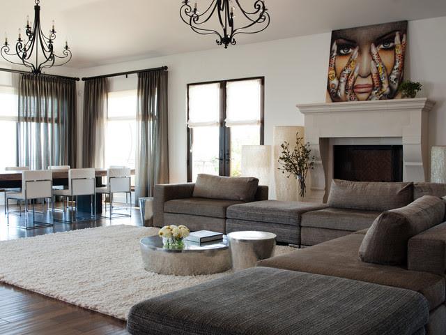 Los Gatos Residence - contemporary - family room - san francisco ...