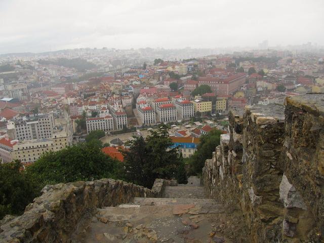 Caminho Castelo de São Jorge Lisboa