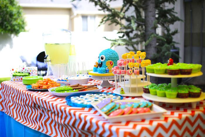 Little Monster Birthday Party on Kara's Party Ideas | KarasPartyIdeas.com (15)