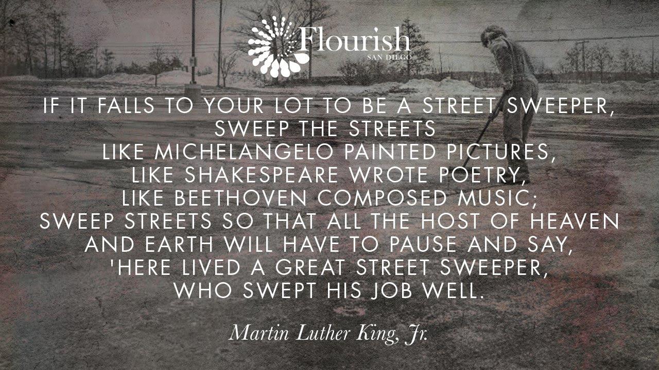Quote On Street Sweeping Flourish San Diego