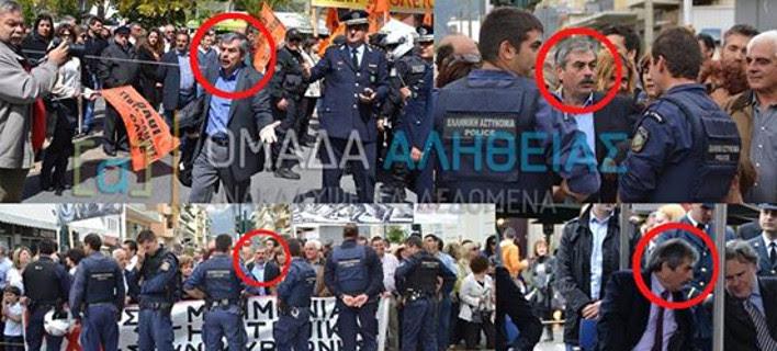 Ο Μουρούτης «καρφώνει» τον Πετράκο του ΣΥΡΙΖΑ για τις παρελάσεις: Πέρυσι έκανε επεισόδια και φέτος κάθεται στα επίσημα [εικόνες]