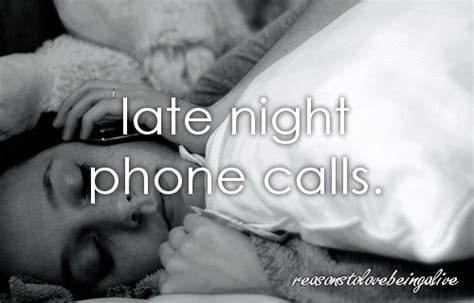Late Night Phone Calls Quotes Tumblr