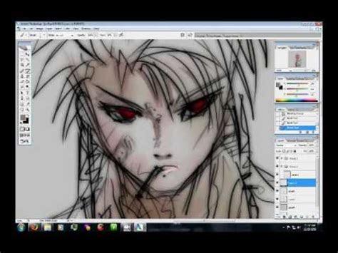 drawing anime wacom tablet youtube