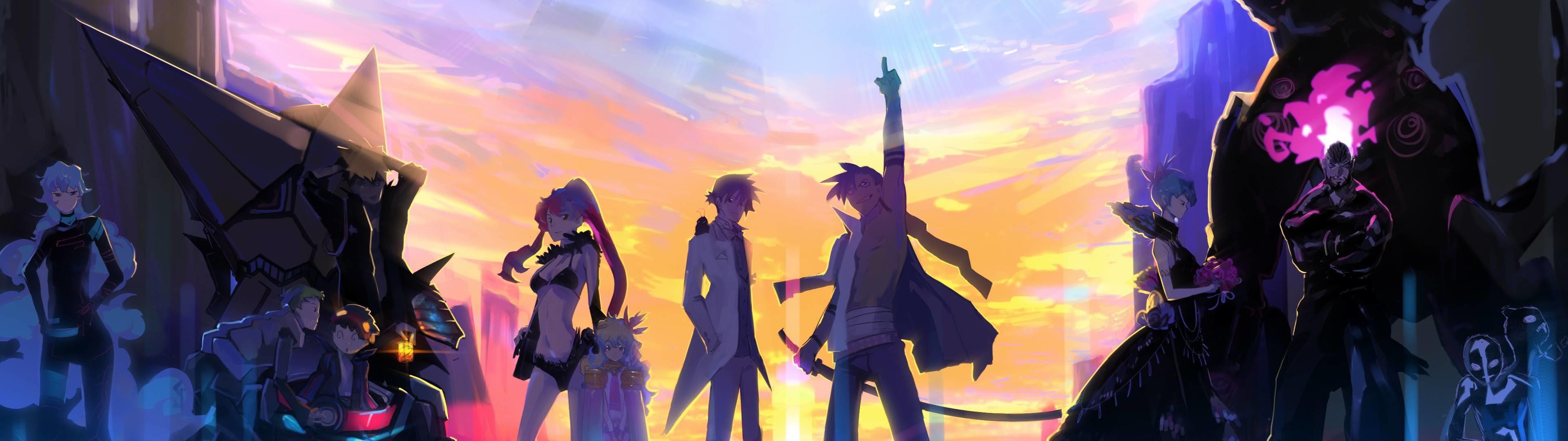27 Dual Desktop Anime Wallpaper Anime Wallpaper