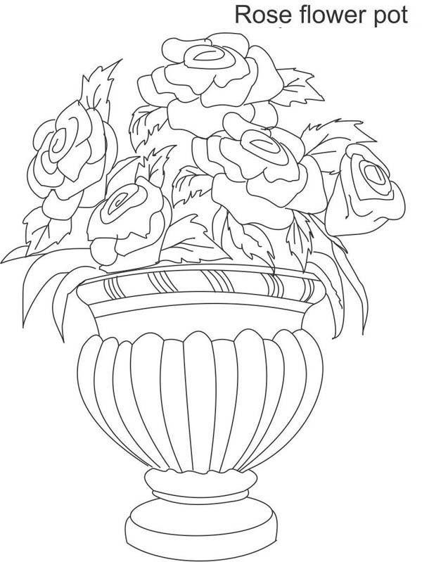 Floreros De Dibujos Para Colorear Wwwincreiblefotoscom