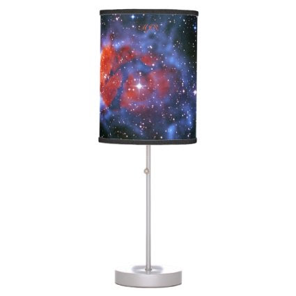 Monogram Gum 58 Emission Nebula, outer space image Desk Lamp