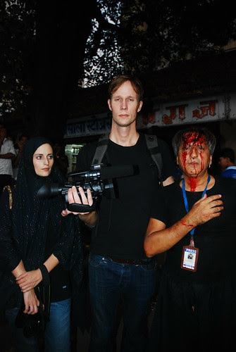 My Friends From Denmark Kim And Viola Shoot Ashura Mumbai 2011 by firoze shakir photographerno1