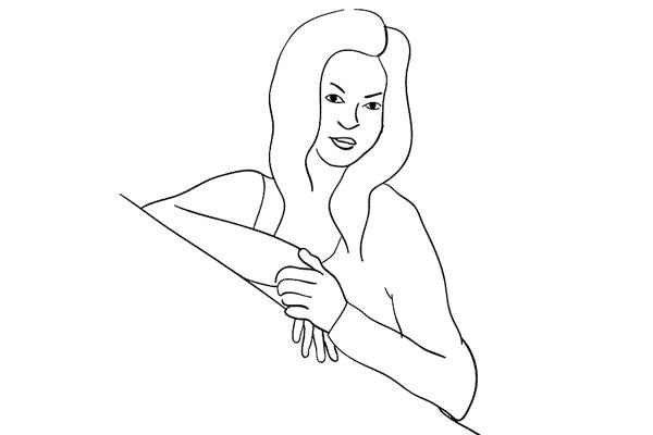 Позирование: позы для женского портрета 1-3