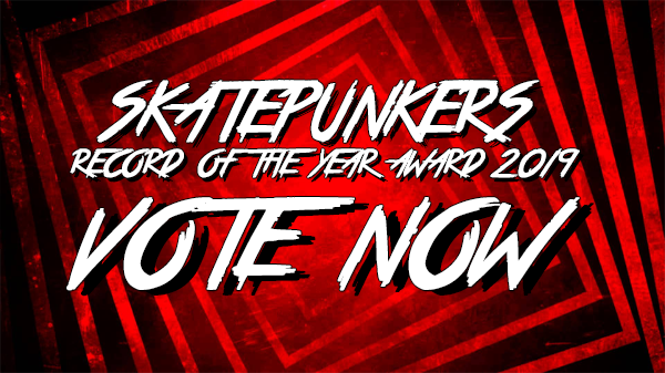 Skatepunkers Record Of The Year Award 2019