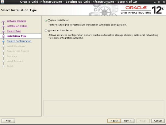 Oracle 12c on Linux 6 OS