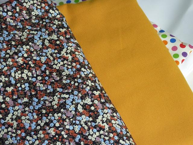 Fabrics bought at Barry's Fabrics