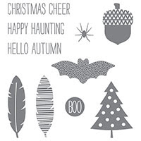Cheer All Year Photopolymer Stamp Set
