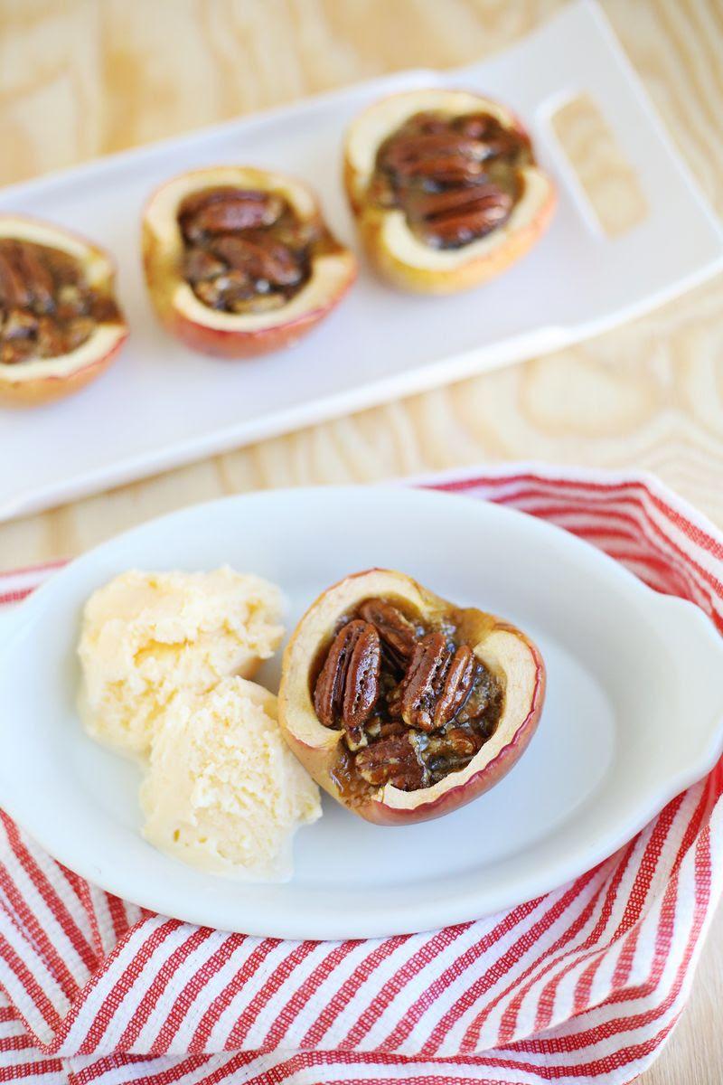 Apple Pecan Pies