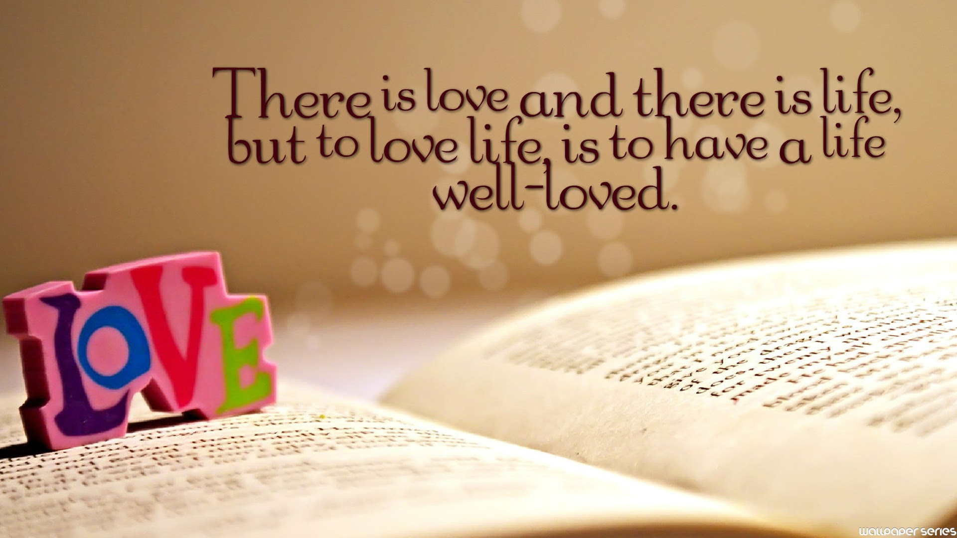 Love Is Life Best Quotes Hd Wallpaper 05800 Baltana