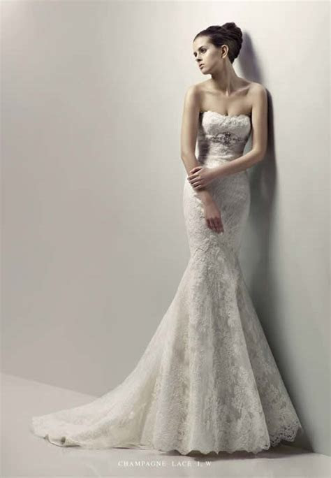 Mermaid wedding dresses Blue by Enzoani   Weddings Engagement