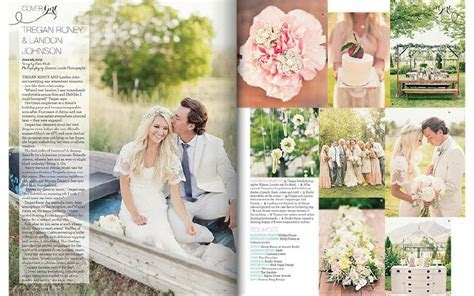 Utah Valley Bride Magazine Feature A Romantic, Bohemian
