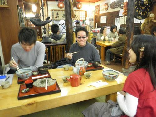 I enjoyed the soba in Takayama