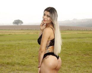 Dayane Ferraty, Miss Bumbum Paraíba (Foto: Celso Tavares / EGO)