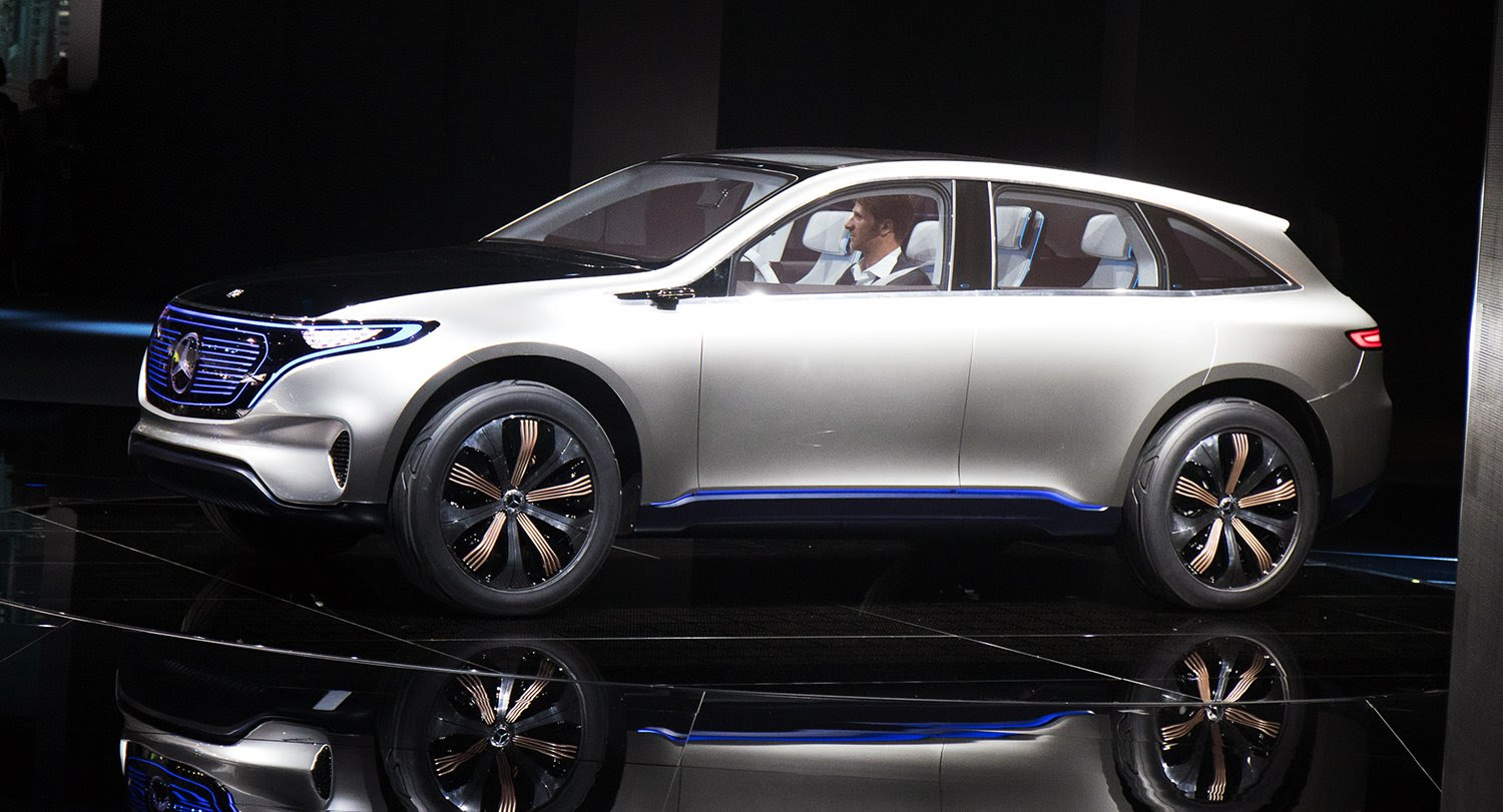 Mercedes-Benz Generation EQ revealed: Electric SUV debuts ...