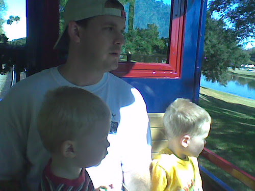 on the train in magic kingdom 4