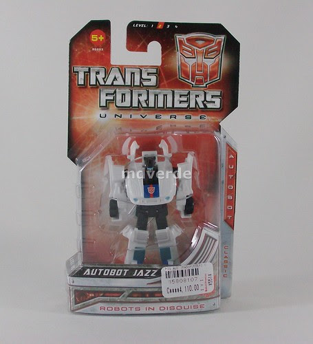 Transformers Jazz Universe Legends - caja (by mdverde)