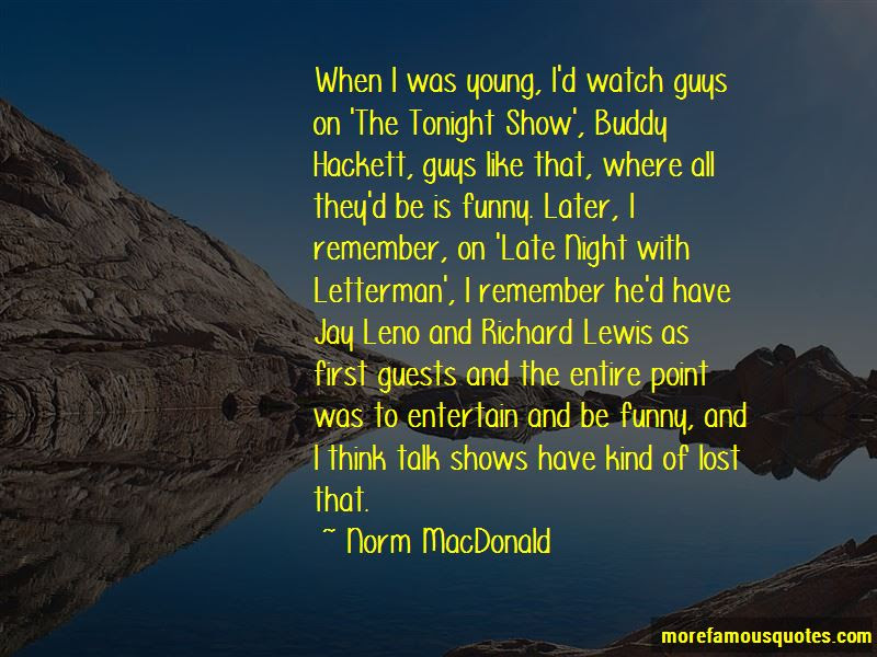 Funny Late Night Show Quotes Top 2 Quotes About Funny Late Night