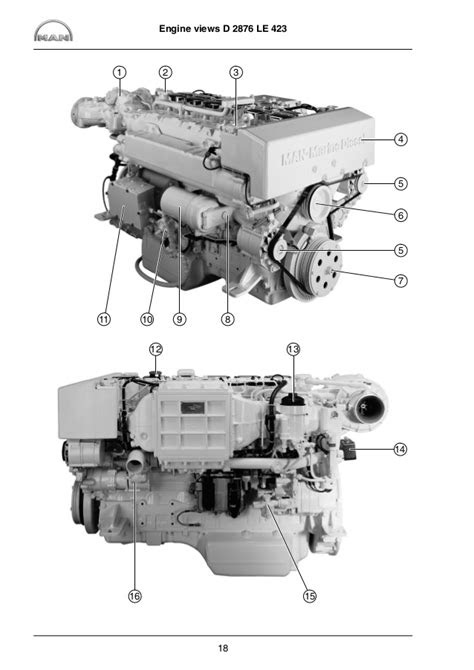 MAN MARINE DIESEL ENGINES R6-800 SERIES Service Repair Manual