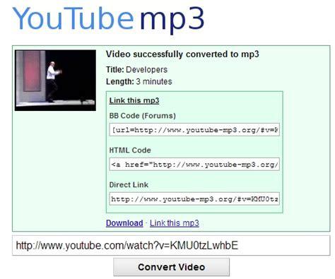 youtube  mp converter