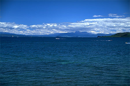 View Of Lake Taupo Photo