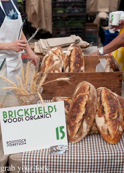 Brickfields and Woods Organics at the Sunday Marketplace, Rootstock Sydney 2014