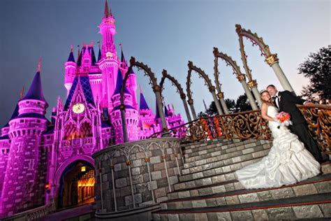 Have You Dreamt of a Magical Evening Wedding at Disney