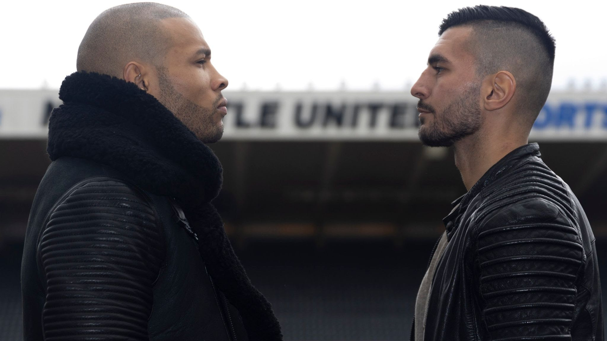 Chris Eubank Jr and Wanik Awdijan in row ahead of fight: 'Why didn't you fight me the first time?'