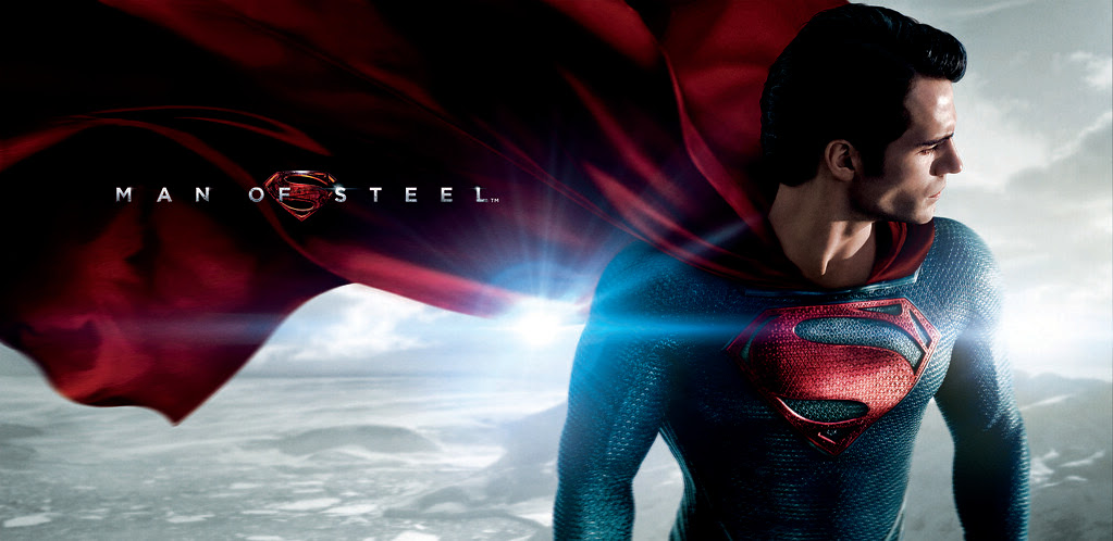 Man of Steel Horizontal Billboard Image