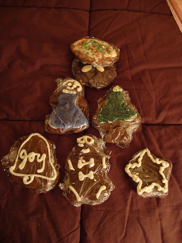 Gingerbread cookies from Michele!