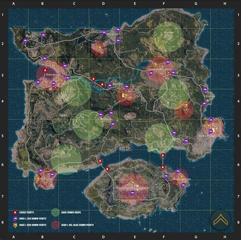 playerunknowns battlegrounds  loot  spawn
