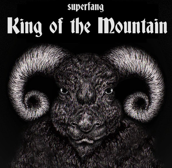 Superfang - King of the Mountain EP Cover