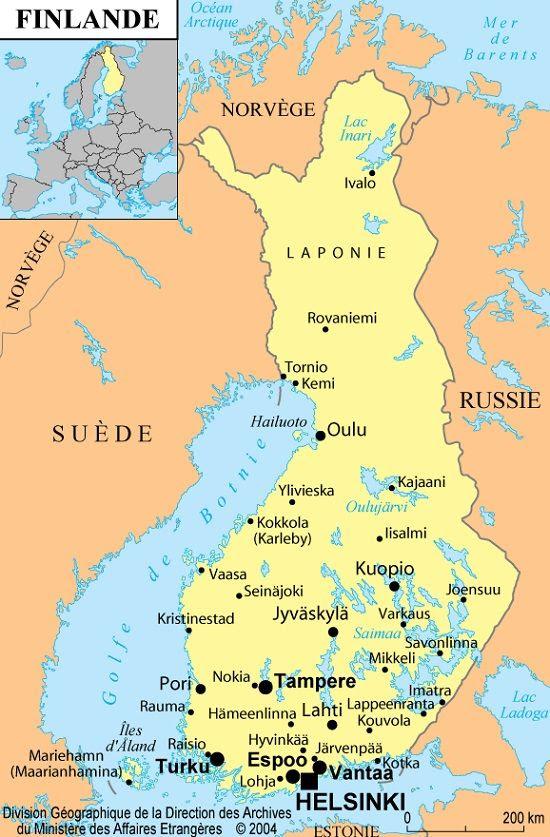 Tout Sur La Finlande Informations Cartes Et Drapeau