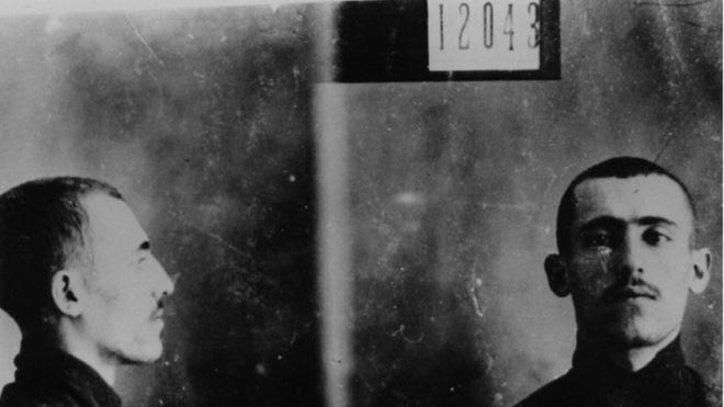 Ficha policial de Simón Radowitzky