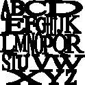 Alpha stencil