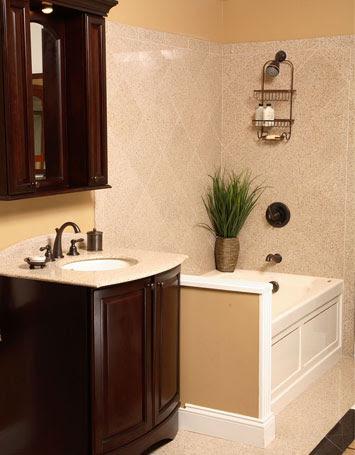 Light Blue Wall Beach Bathroom Themed Decorating Ideas Bathroom - Minor bathroom remodel