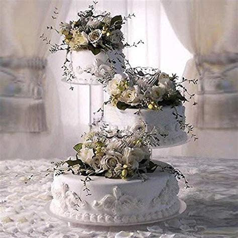 Wedding Cake Display Stand. Wilton 3 Tier Pillar Style