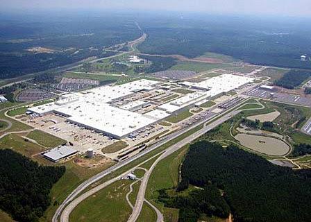 Alabama mercedes factory
