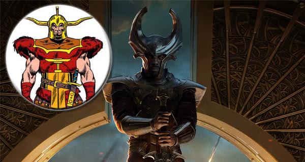 Idris Elba es Heimdall en Thor