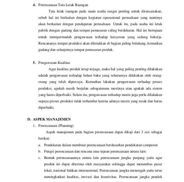 Contoh Executive Summary Studi Kelayakan Bisnis Rinda Cel