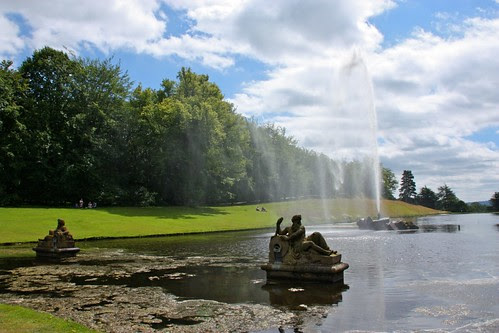 Imperial Fountain at Chatsworth