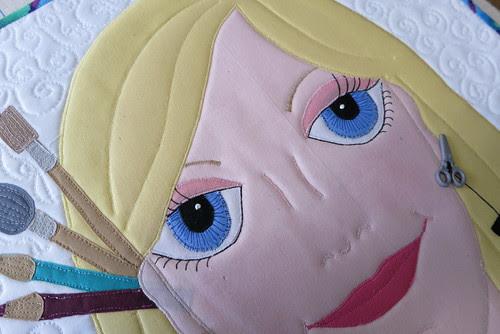 Lady #42's pretty eyes