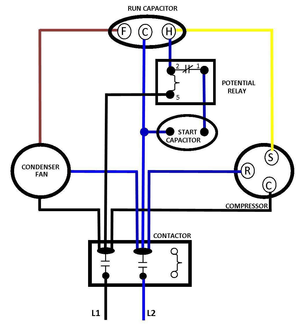 Diagram Goodman A C Compressor Wiring Diagram Full Version Hd Quality Wiring Diagram Plotdiagram Archivioprimoli It