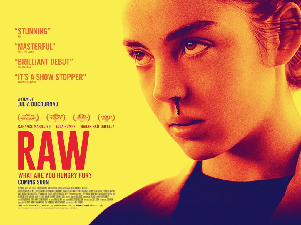 Risultati immagini per raw poster