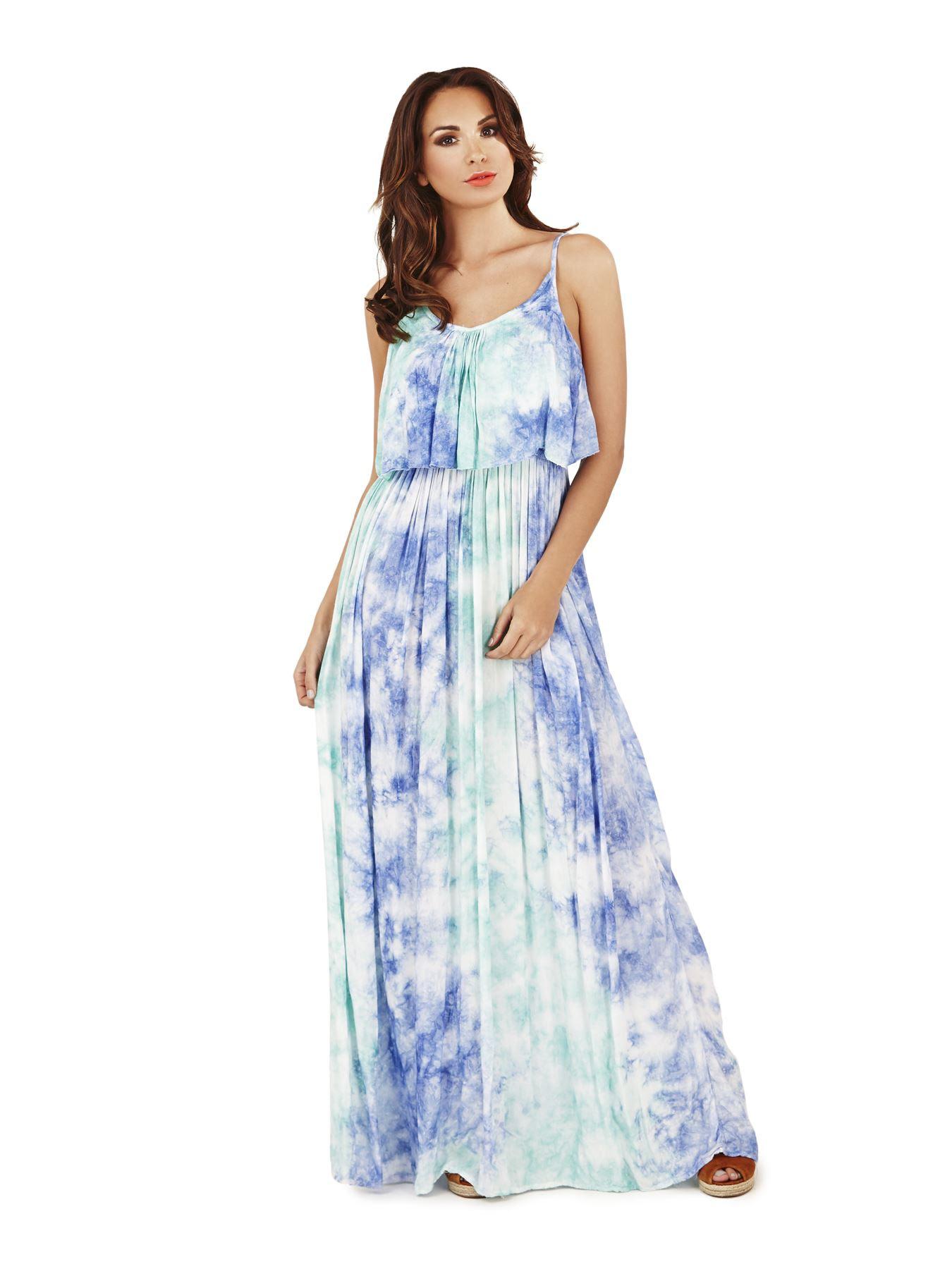 new 2017 womens ladies summer holiday beach sun tie dye